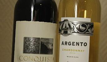 Hvitt og rødt fra Argentina