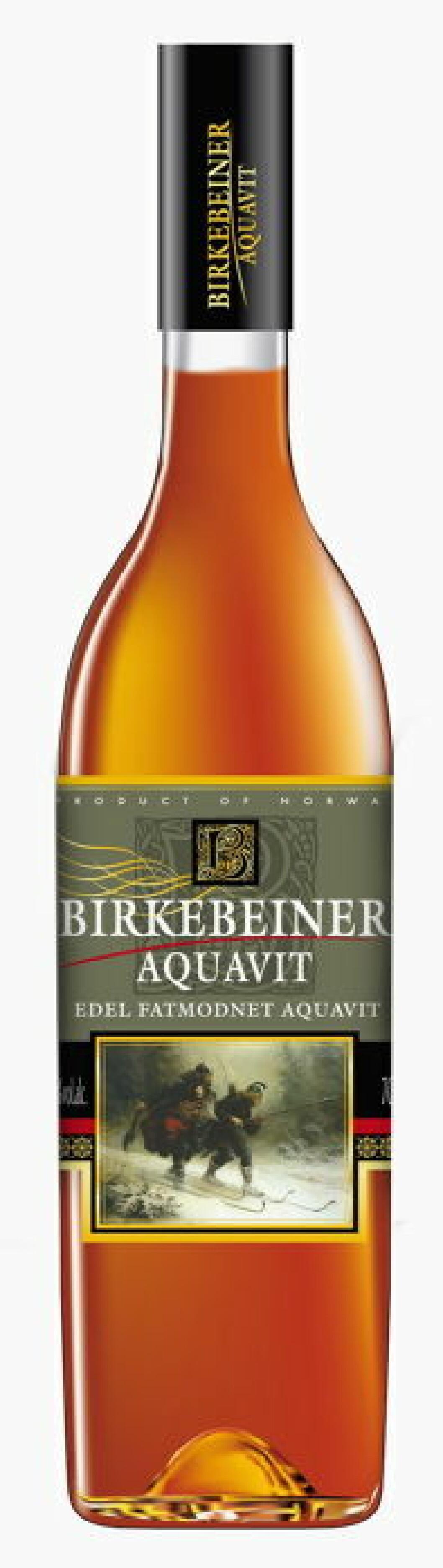 Birkebeiner Aquavit nett