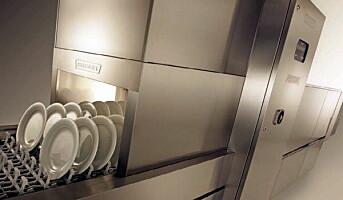 Hobart vant pris for miljøvennlig oppvaskmaskin