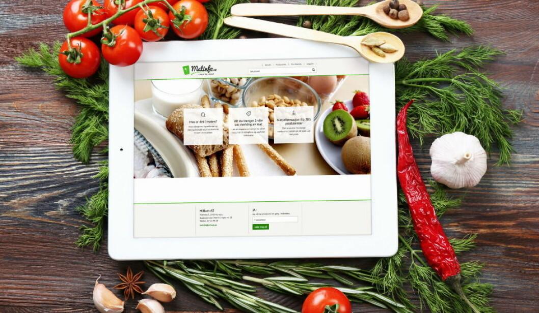 Matinfo hva er det i maten illustrasjonsfoto