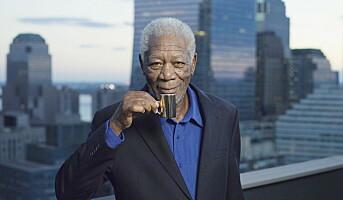 Storsatsing på kaffereklame – med Morgan Freeman