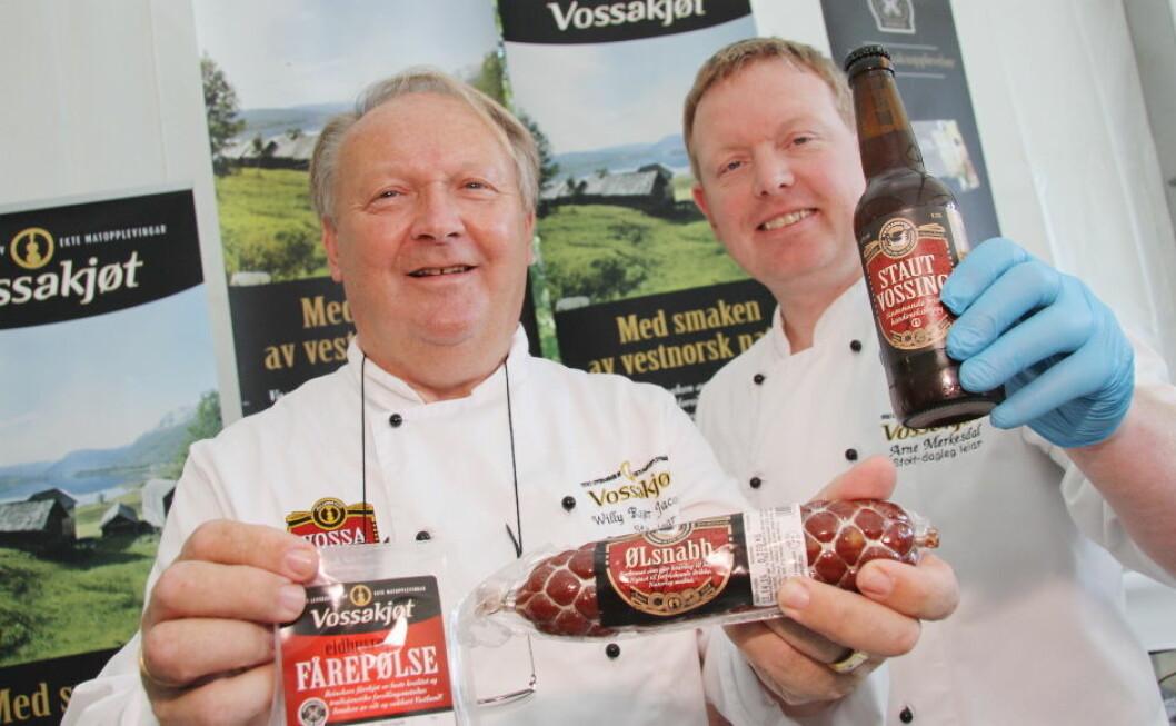 Vossakjøt Willy Roger Jacobsen og Arne Merkesdal6