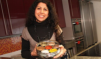 Lanserer autentisk tikka masala
