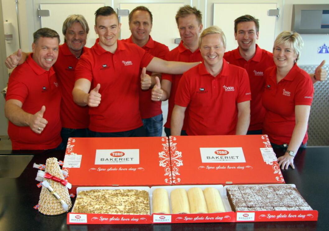 TORO Bakeriet  Prosjektgruppe