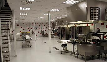 Matspecialen med nytt produksjonskjøkken