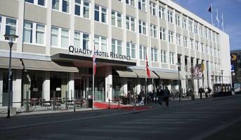 Quality Hotel Residence med 100 nye rom