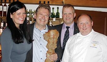 Egge Gård fikk Fridtjovprisen 2012