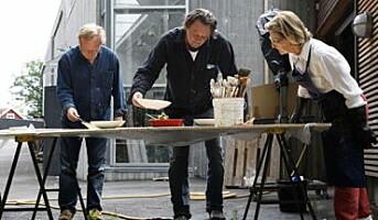 Dronning Sonja med kunstprosjekt på Hotel Ullensvang