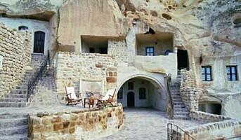 Stadig flere hulehotell i Tyrkia