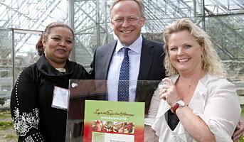 Espelid Hovigs Matkulturpris til Klepp Frivillighetssentral