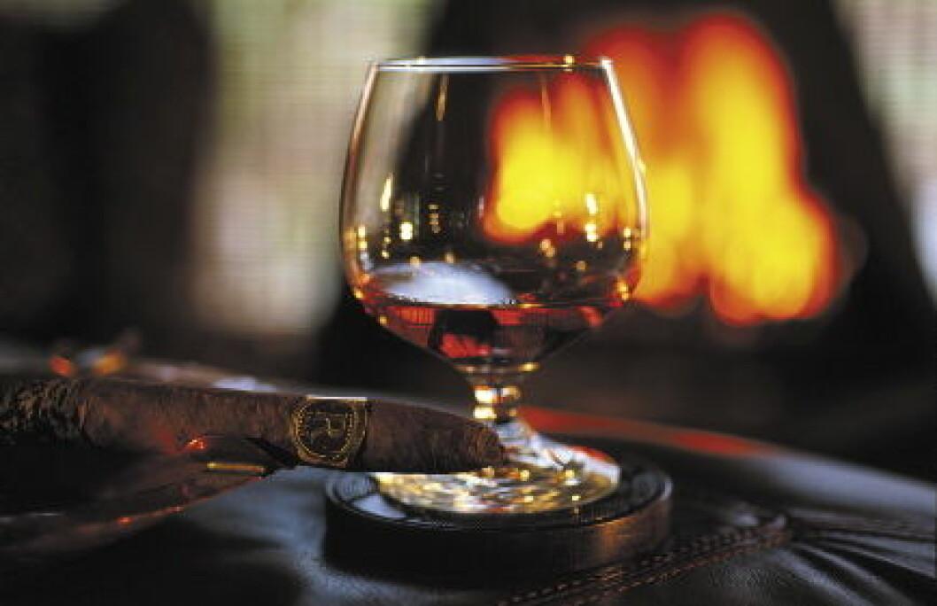 Cognac og Sigar