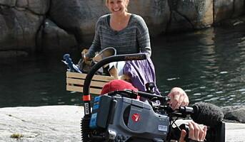 Tina Nordstrøm lager TV med Salmalaks