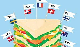 Sjekk prisen med en Club Sandwich