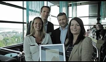Scandic Vulkan fikk pris i HSMAI-kåring