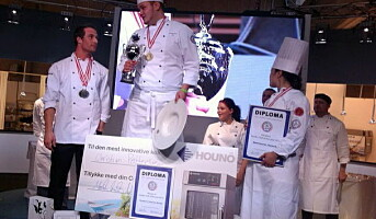 Dobbeltseier i Nordic Chef of The Year