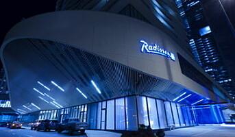 Åpnet det første Radisson Blu-hotellet i USA