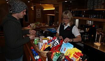 Både Quick Service Restaurant og kiosk