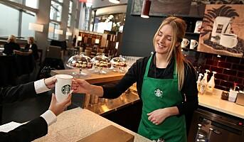 Starbucks  på Oslo Lufthavn