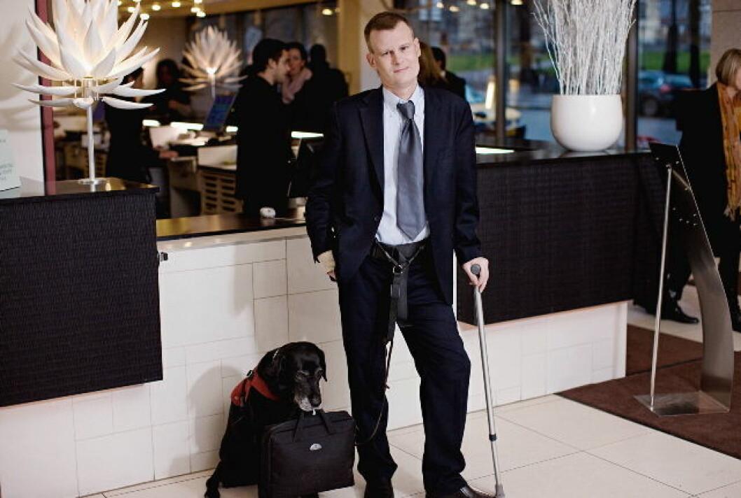 Magnus Berglund Scandic handikapamb nett