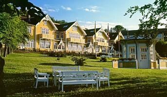 Oppsiktsvekkende energikarakter for historisk hotell