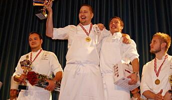 Rica Bakklandet-kokk vant NM i kokkekunst