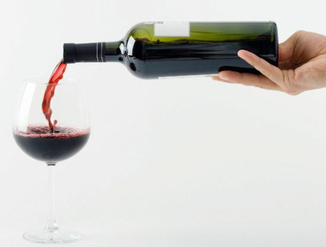 Rødvin illustrasjonsfoto2