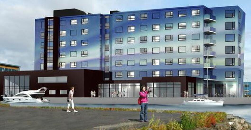 Blåbyen Hotel Sortland