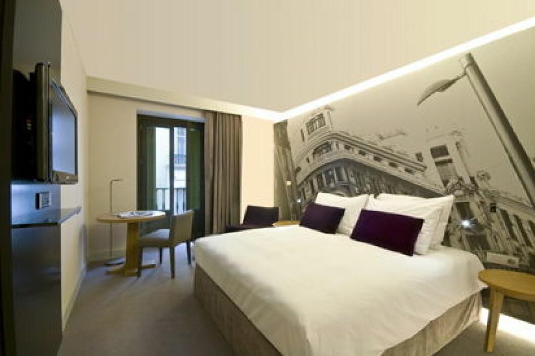 Madrid Hotellrom Tapet