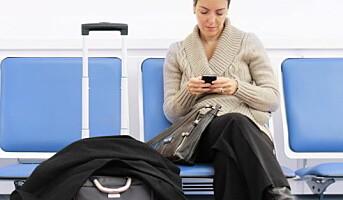 Mobilen er den nye reiseplanleggeren