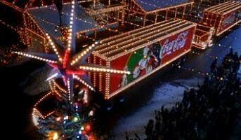 Juletraileren på vei sørover