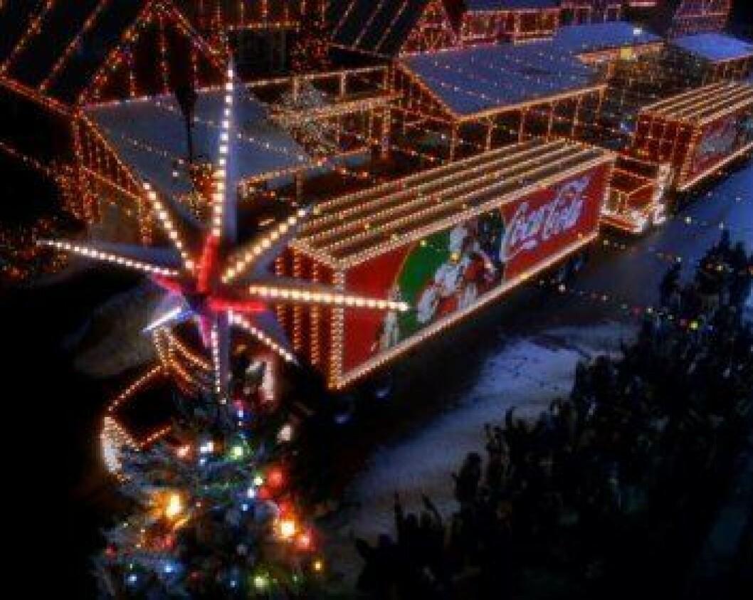 Juletrailer Coca-Cola