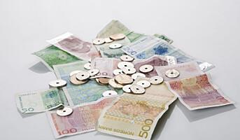 - Norge kan bli første land uten kontanter