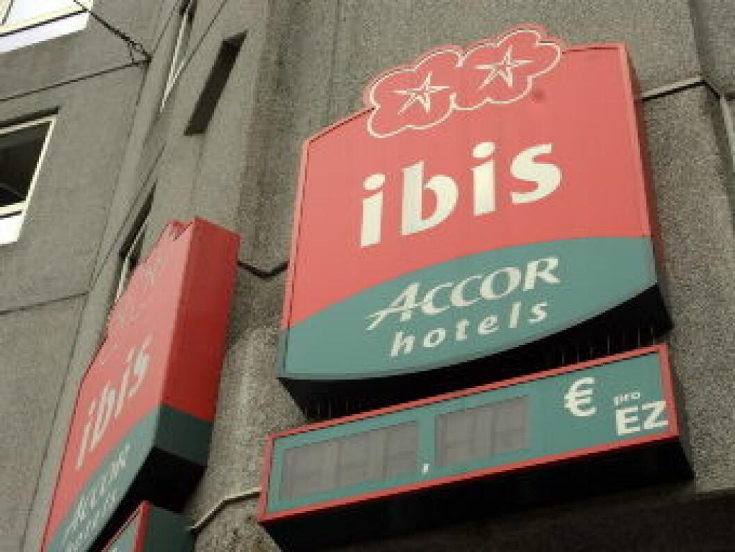 Hotel Ibis illustrasjon
