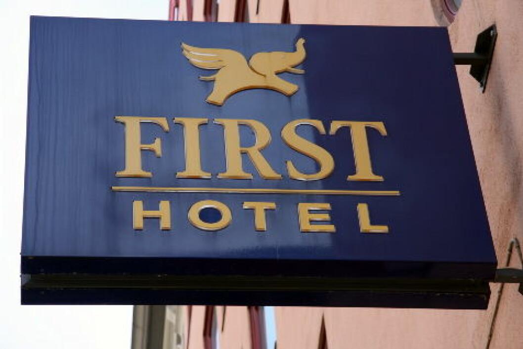 First Hotel logo