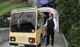 Driver panoramahotell i Zermatt