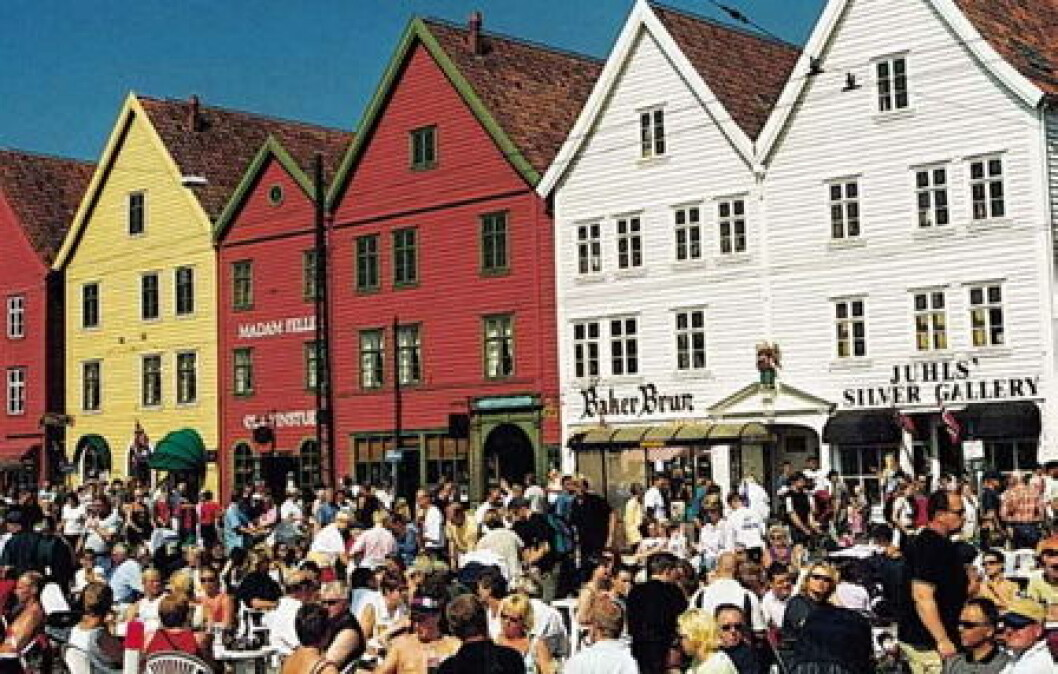 Bergen Brygge folk