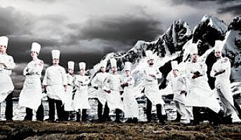 Kokkelandslaget forbereder seg til OL
