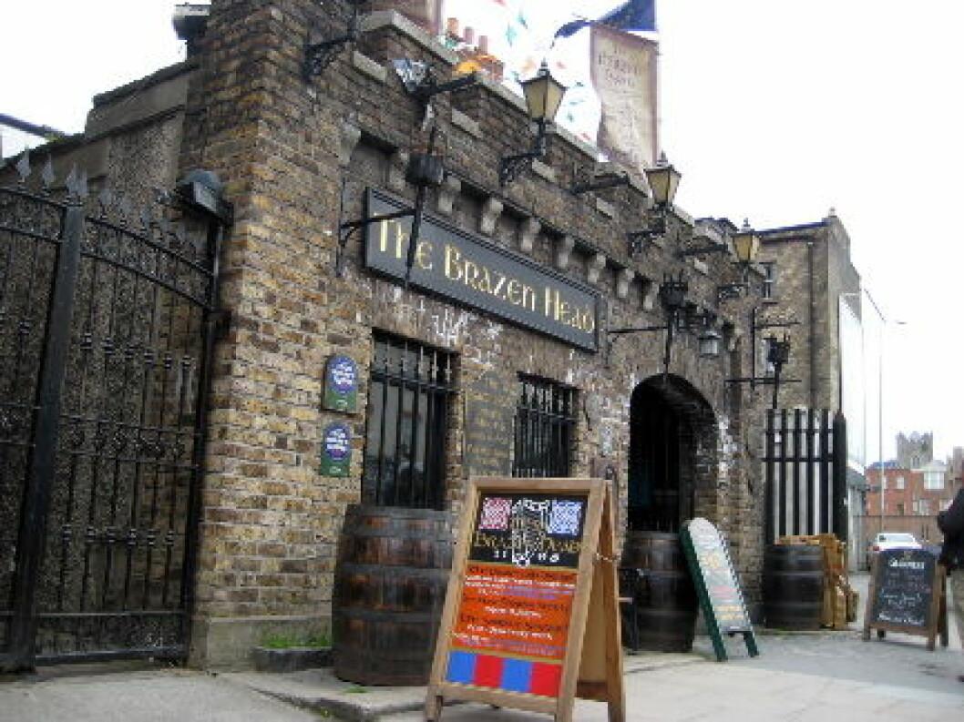Brazen Head Pub Irland
