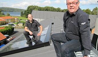 Svensk restaurant henter energien på taket