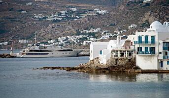Øyhopping i Hellas med megayachts