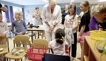 Imponert kunnskapsminister:  Mange kan lære av Larvik