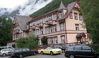 Det blir utbygging av Hotel Union Øye