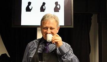 Kaffen er restaurantgjestens souvenir
