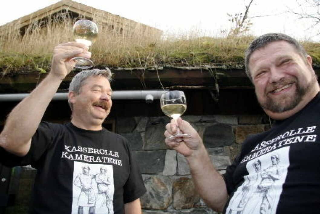 Jon Aga og Atle Tilrem Kasserollekameratene
