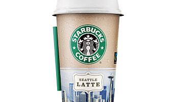 Starbucks lanseres i Norge