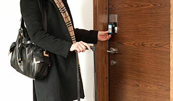 Lås opp hotelldøra med din egen mobil