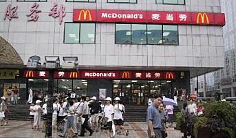 Opptur for McDonald`s
