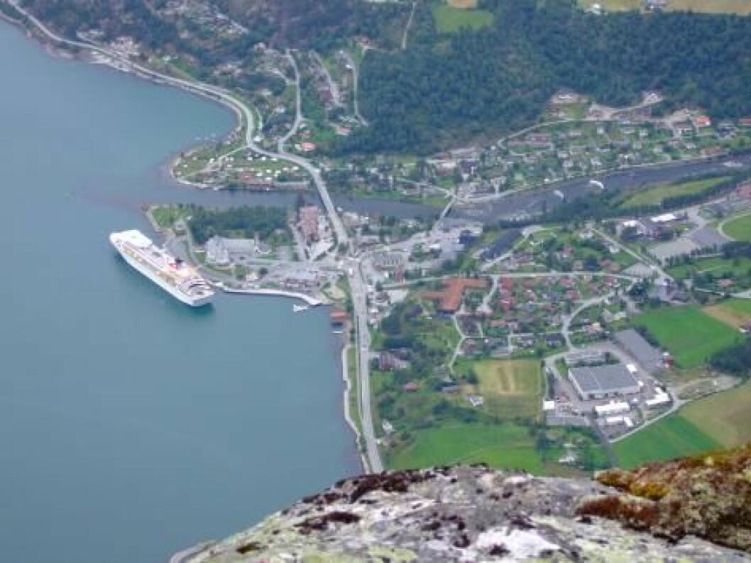 Eidfjord Hardanger cruise