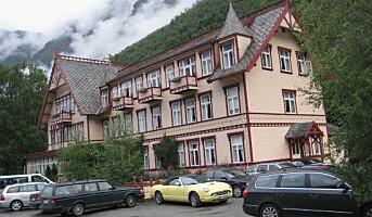 Hotel Union Øye får sitt tilbygg