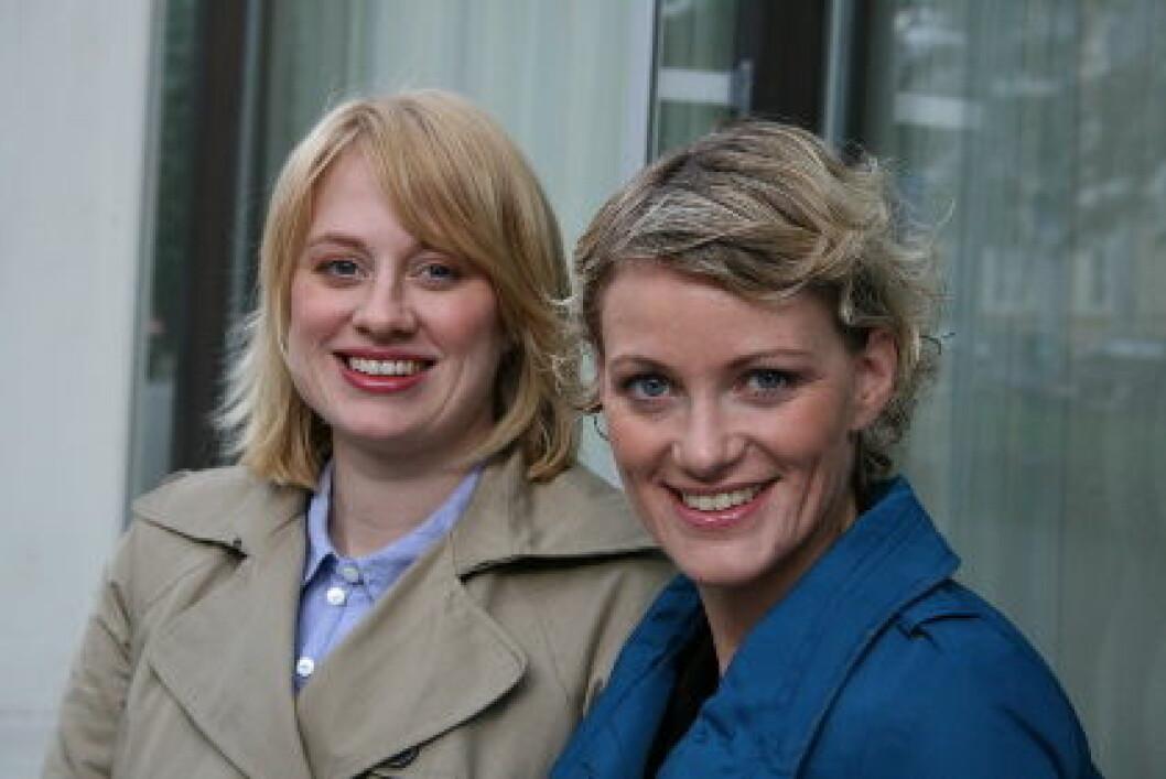 Arena Nord Bianca M.Johansen og Ingrid Wiesener